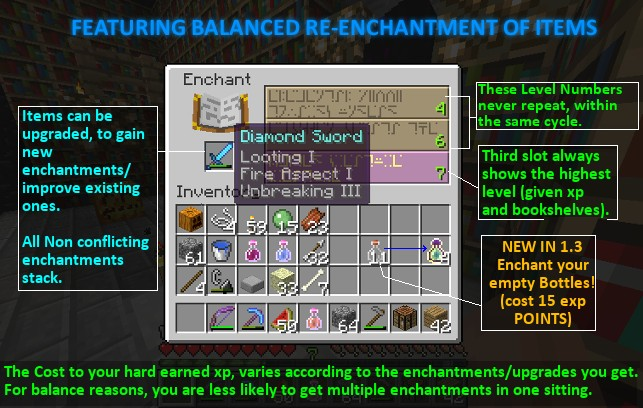 SUPERIOR ENCHANTMENT SYSTEM